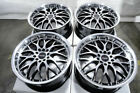 17x75 Black Wheels Fits Lexus Hs250H Is200T Is250C Is300 Is350 Is350C IsF Rims