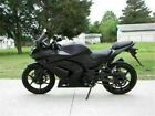 New Injection ABS Black Fairing Fit for Kawasaki 2008-2012 EX250 250R Set k001