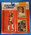 1990 Starting Lineup Magic Johnson With Rookie Of The Year Card