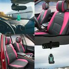 Car Seat Covers Ultra Comfort Leatherette Seat Cushions Front W Air Freshener