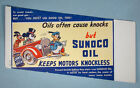 1940s Mickey Mouse Donald Duck Pluto Sunoco Oil Gas Station Ink Blotter W.D.P.