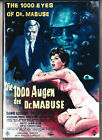 FRITZ LANGS THE 1000 EYES OF DR MABUSE DVDHD TRANSREGION 0 INC AUSTLIKE NEW
