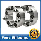 2PCS 2 5x5 Wheel Spacers Adapters For Jeep Wrangler Grand Cherokee JK Offroad