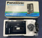 Panasonic Model No. RQ-353 Vintage Cassette Recorder Black Use Once