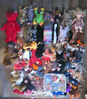 Huge TY Beanie Baby lot over 50 differnet Muscle Man Star Patrick Spongebob MORE