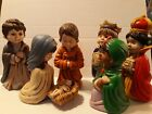 Atners Adorable Set Of 7 Nativity Figures Ceramic 8 from 1987 M5