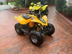 2015 CAN AM 90 4 WHEELER VERY CLEAN RUNS LIKE NEW NO RESERVE 954 937 8271