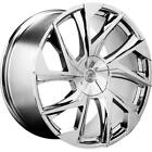 4ea 20 Staggered Lexani Wheels Ghost Chrome Rims S2