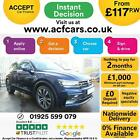 2016 BLUE VW TIGUAN 20 TSI 180 BMT 4MOTION R LINE DSG CAR FINANCE FR 117 PW