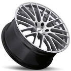 4ea 20 Staggered TSW Wheels Max Hyper Silver Rims S1
