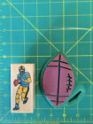 Embossing Arts Football Hero wood mounted rubber stamp and foam mounted Football