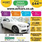 2016 WHITE BMW 118i 15 SPORT PETROL MANUAL 5DR HATCH CAR FINANCE FR 44 PW