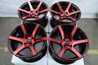 15 Red Wheels Fits Toyota Yaris Prius C Mr2 Corolla Civic Mirage Kia Rio Rims