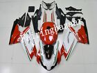 Fit for 07-10 Aprilia RS125 TRICOLORE White Red Green ABS Injection Fairing Kit