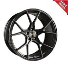 4ea 20 Stance Wheels SF07 Gunmetal Brushed Tinted Face Rims S4