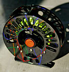 Abel Creek 2 Fly Reel Large Arbor Custom Retro Carnival Finish Excellent++