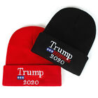 Donald Trump 2020 Winter Warm Beanie Knit Hat - Make America Great- Red