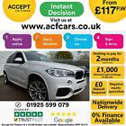 2015 WHITE BMW X5 30 XDRIVE30D M SPORT 7 SEAT DIESEL AUTO CAR FINANCE FR 117PW