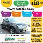 2014 GREY RANGE ROVER 30 TDV6 VOGUE DIESEL AUTO 4X4 CAR FINANCE FR 129 PW