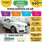 2015 WHITE AUDI A1 16 TDI 116 SPORT DIESEL MANUAL 3DR CAR FINANCE FR 40 PW