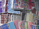 Alphabet Letter Stickers 20pks Mixed Lot Big Small Jolees Recollections +