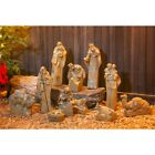 Nativity Scene Outdoor Indoor Christmas Decor 11 Figurine Statues