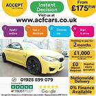 2016 YELLOW BMW M4 30 T DCT 431 PETROL AUTO 2DR COUPE CAR FINANCE FR 175 PW