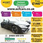 2016 BLACK BMW M4 30 DCT 431 BHP PETROL AUTO CONVERTIBLE CAR FINANCE FR 146 PW