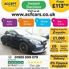 2018 BLUE MERCEDES CLA220D 21 AMG LINE NIGHT EDITON + CAR FINANCE FR 113 PW