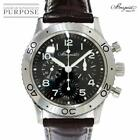 Breguet Aero Naval Type XX 3800ST Chronograph Black Automatic Men's Watch[b1126]