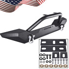 Front Bumper with D Rings  Winch Plate for Jeep Wrangler TJ YJ 1986 2005 USA