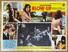Blow Up Mexican lobby card  Michelangelo Antonioni  D Hemmings  Redgrave