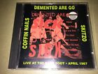 Demented Are Go / Skitzo  / Coffin Nails – Sick Sick Sick: CD: Psychobilly: RB1