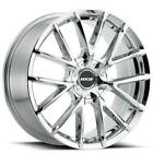 4ea 22 MKW Wheels M123 Chrome Rims S2