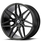 4ea 20 Asanti Wheels ABL 11 Sirius Gloss Black Rims S1