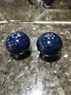 NEW Fiesta Salt & Pepper Shaker Set Cobalt
