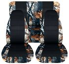 SI Car Seat Covers Front & Rear  Fits Wrangler 87-95 tree camouflage with name