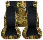 SI Seat Covers Front & Rear to Fit 87-95 Wrangler GREEN TREE camouflage NAME
