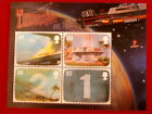 THUNDERBIRDS Set of 4 Lenticular Postage Stamps - Gerry Anderson - 2011