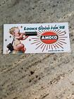 1948 AMOCO GAS OIL ADVERTISING INK BLOTTER  American Oil Co. Baby New Year