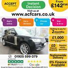 2013 BLACK RANGE ROVER 44 SDV8 AUTOBIOGRAPHY DIESEL 4X4 CAR FINANCE FR 142 PW
