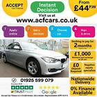2015 SILVER BMW 320D 20 EFFICIENT DYNAMICS DIESEL SALOON CAR FINANCE FR 44 PW
