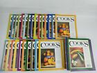 44 COOKS ILLUSTRATED Magazine Lot 2007 2016 Mixed Variety All In Good Shape