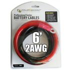 Powerbright 2AWG6 Inverter Cables 6 Feet