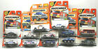 12pc 1990s Matchbox Diecast Vehicles Police Cars+Emergency+Rescue Trucks NOC