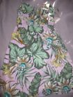 nwt J.Crew tropical floral print sun dress ladies XS free ship USA