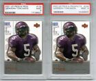2- LADAINIAN TOMLINSON 2001 UD PROS AND PROSPECTS #104 1000 GRADED PSA 9 MINT