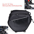 Sport Back Motorcycle Rear Tail backpack Bags Seat Bag Scooter Tool Pack Durable