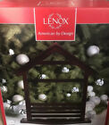 New Christmas Lenox First Blessing Nativity Wood Creche Holiday Display Retired
