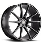 4ea 19 Savini Wheels BM12 Matte Black Rims S10
